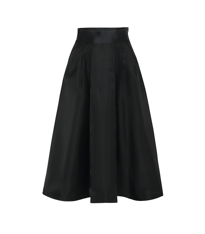 [only Astier] signature layered skirt